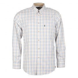 Barbour Sporting Tattersall Shirt Blue