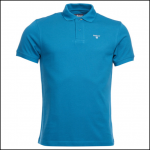 Barbour Sports Blue Steel Polo Shirt 1