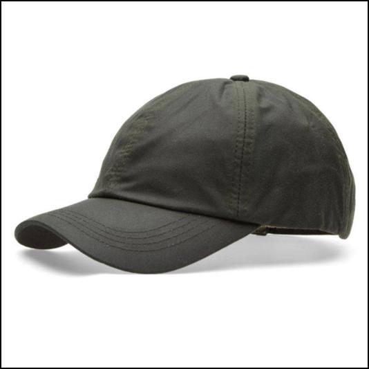 Barbour Wax Sports Cap Sage 1
