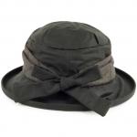Barbour Wax with Tweed Brimmed Hat - Sage 2