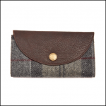 Barbour Wool Winter Tartan Fold Out Purse