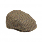 Barbour Olive Check Crieff Cap