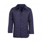 Barbour Liddesdale Navy Quilted Jacket