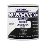 Bedec Aqua Advanced Primer Undercoat White 1L 1
