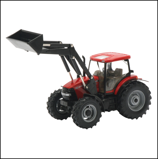 Britains Case IH Maxxum 110 Tractor & Front Loader 1:32 Scale