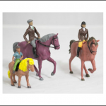Britains Family Horse and Rider Set 1.32 Scale 1