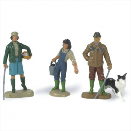 Britains Farming Family Set 1:32 Scale