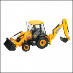 Britains JCB 3CX Sideshift Backhoe Loader 1:32 Scale