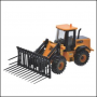 Britains JCB Farm Master Wheeled Loader 1:32 Scale 2