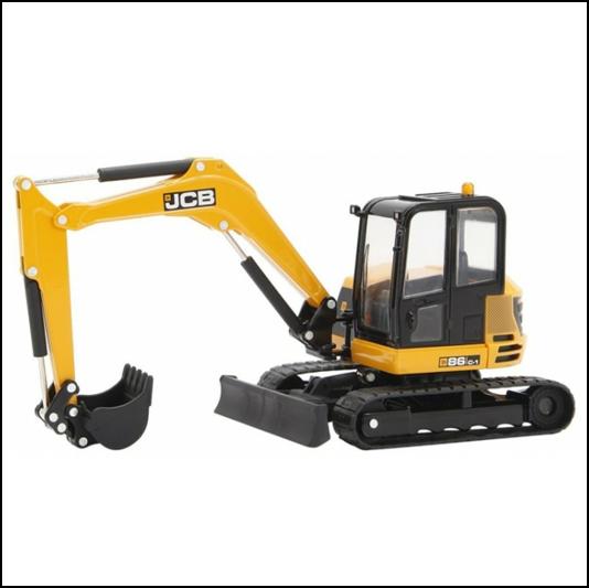Britains JCB Midi Excavator digger 1:32 Scale