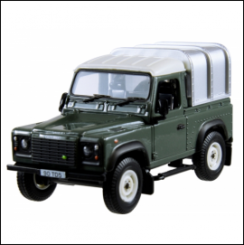 Britains Land Rover Defender 90 1.32 Scale 1