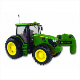 Britains Radio Controlled John Deere 6190R Tractor 1-16 Scale 1