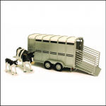 Britains Toy Cattle Trailer with Cows 1:16 Scale