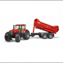 Bruder Case IH Pump 230 Tractor with Krampe 3099 Tipper 1:16 Scale