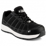 Buckler Kez Largo Bay Black Safety Lace Trainer