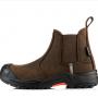 Buckshot Nubuckz Brown Safety Dealer Boot 1