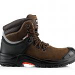 Buckshot Nubuckz Brown Safety Lace Boot 1