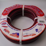 London And Lancs - Ellbraid Contractor's 15m Hose - Red