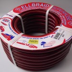 London and Lancs - Ellbraid Contractor's 30 m Hose - Red