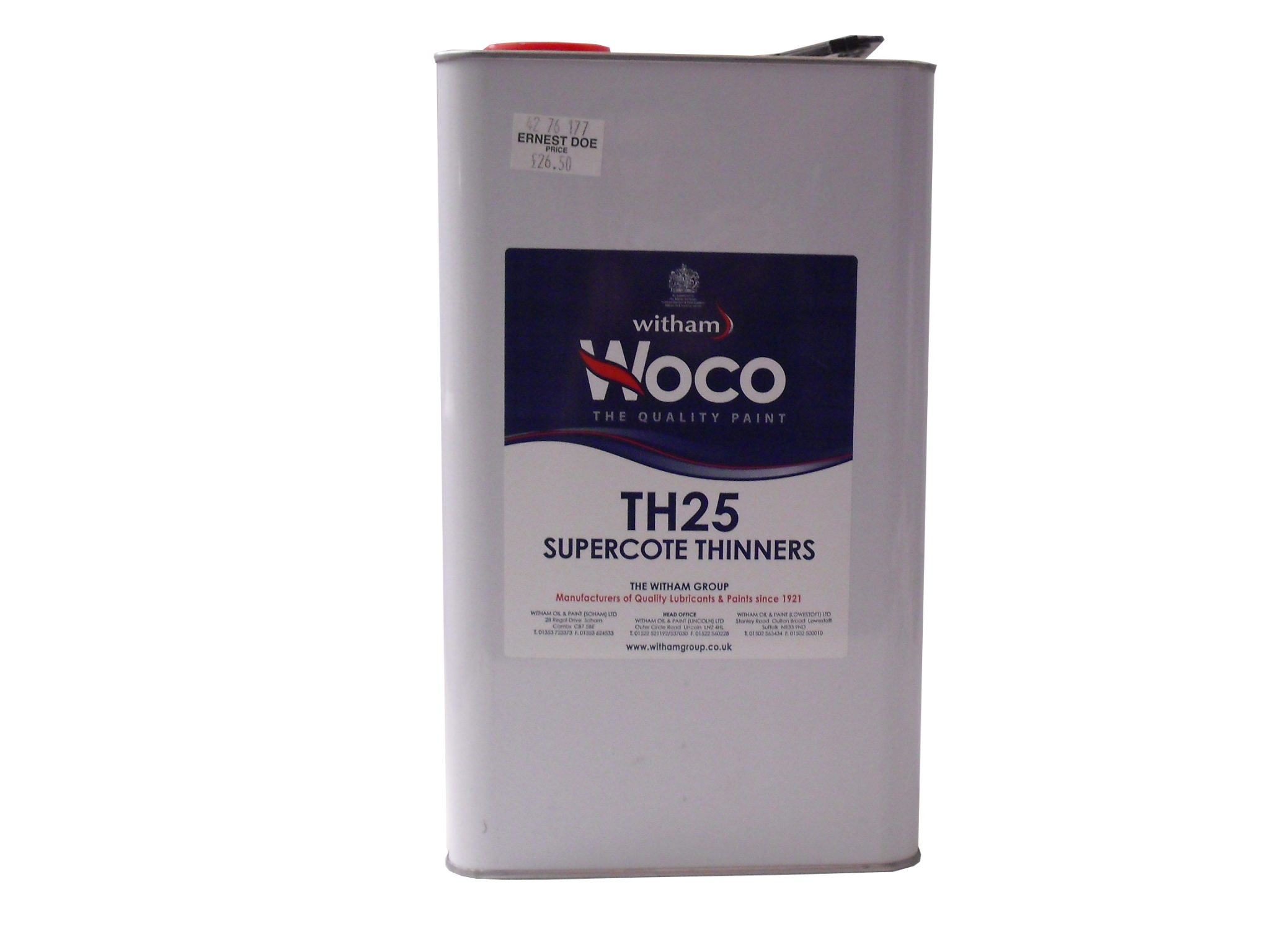 Woco TH25 Supercote Thinners
