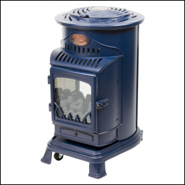 Calor Provence 3kw Portable Gas Stove Heater Blue 1