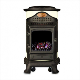 Calor Provence 3kw Portable Gas Stove Heater Cream 1