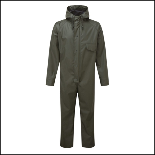 Castle Fortress 321 Air Flex Green Coverall 1