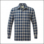 Castle Worcester Check Shirt Blue