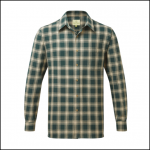 Castle Worcester Check Shirt Green