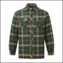 Castle Neath Green Padded Shirt 1