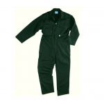 Castle Zip Coveralls Spruce Green
