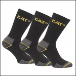Caterpillar Cat Crew 3pk Real Work Socks 1