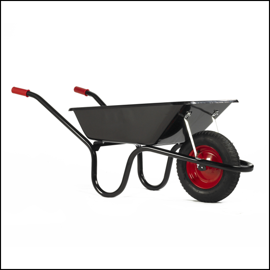 Chillington Camden Classic Black 85L Wheelbarrow 1