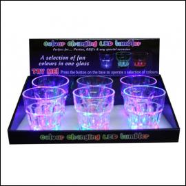 Clulite LED 6pk Plastic Tumblers 1