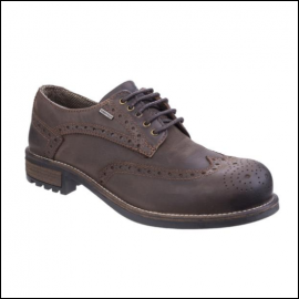 Cotswold Oxford Mens Brown Shoe 1