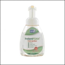 Deb Instant Foam Hand Sanitiser 250ml Pump Bottle
