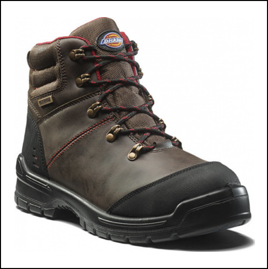 Dickies Cameron Brown Safety Lace Up Boots 1