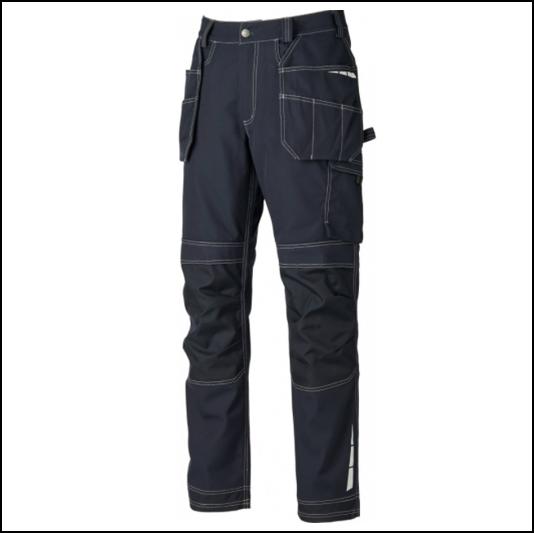 Dickies Eisenhower Extreme Black Work Trousers 1
