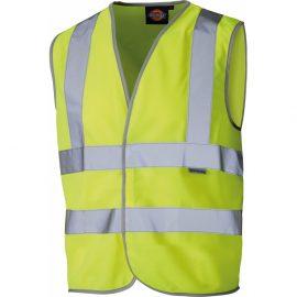 Dickies Junior Hi Vis Safety Waistcoat