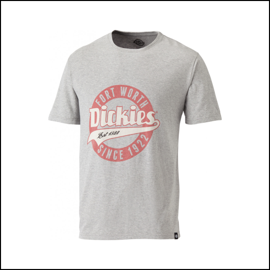 Dickies Lowell Grey T-Shirt 1
