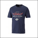 Dickies Lyndon Navy Blue T-Shirt 1