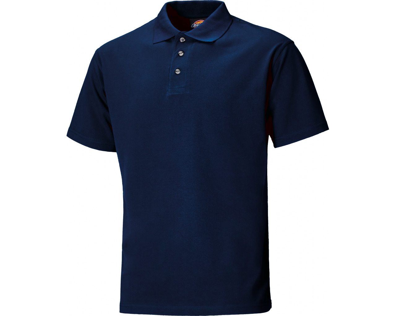 Dickies Navy Short Sleeve Polo Shirt 1