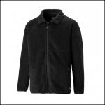 Dickies Oakfield Black Fleece Jacket