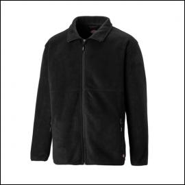Dickies Oakfield Black Fleece Jacket 1
