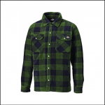 Dickies Portland Green Check Shirt 1