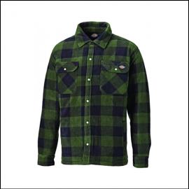 Dickies Portland Green Check Shirt 1