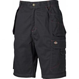 Dickies Redhawk Pro Black Work Shorts 1