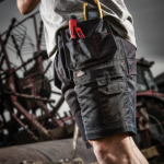 Dickies Redhawk Pro Black Work Shorts 2