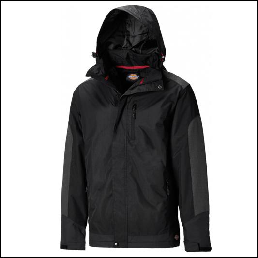 Dickies Thornley Black Waterproof Jacket 1
