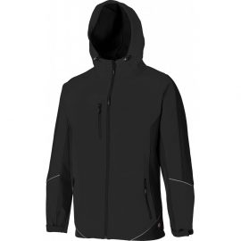 Dickies Two Tone Black Soft Shell Jacket 1